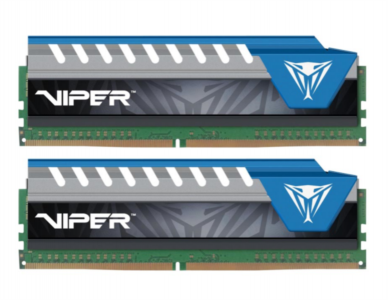 PATRIOT 8GB DDR4 (2 x 4GB)2666 CL16 1.2V Viper Elite, moder