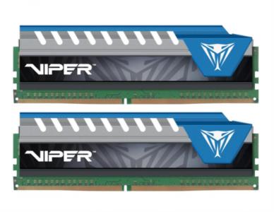 CRUCIAL 8GB DDR4 (2 x 4GB)2666 CL16 1.2V Viper Elite, moder