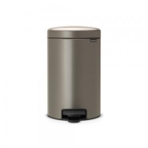 Brabantia koš za smeti 12L platinum