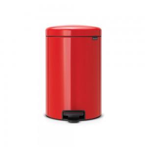 Brabantia koš za smeti 20L rdeč