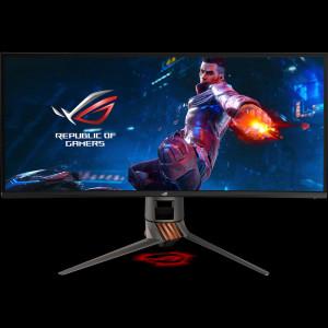 ASUS PG349Q 34'' ROG SWIFT Gaming IPS ukrivljen monitor, 3440 x 1440, 4ms, 120Hz, DisplayPort, USB3.0, zvočniki, G-SYNC