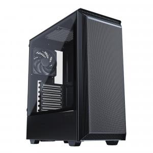 PHANTEKS ECLIPSE P300A MESH TEMPERED GLASS USB3 ATX črno ohišje