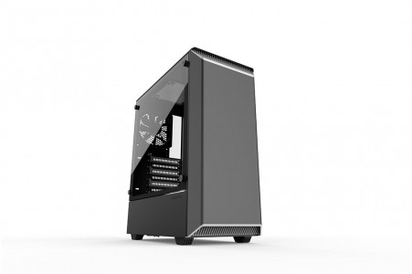 PHANTEKS ECLIPSE P300 TEMPERED GLASS USB3 ATX črno/belo ohišje