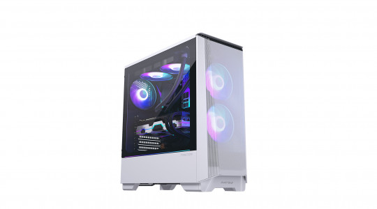 PHANTEKS ECLIPSE P360A TEMPERED GLASS D-RGB LED ATX belo ohišje