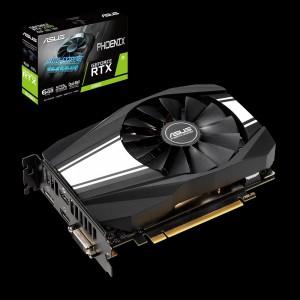 Grafična kartica ASUS GeForce RTX 2060 Phoenix, 6GB GDDR6, PCI-E 3.0