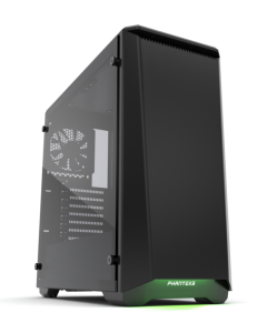 PHANTEKS ECLIPSE P400 Tempered Glass USB3 ATX črno ohišje