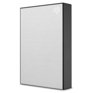 Seagate 4TB ONE TOUCH, prenosni disk 6,35cm (2,5) USB 3.2, srebrn
