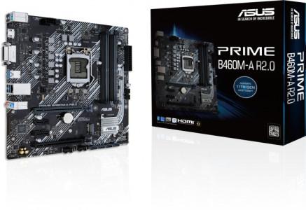 ASUS PRIME B460M-A R2.0, DDR4, SATA3, USB3.2Gen1, HDMI, LGA1200 mATX