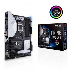 ASUS PRIME Z370-A II, DDR4, SATA3, USB3.1Gen2, DP, LGA1151 ATX