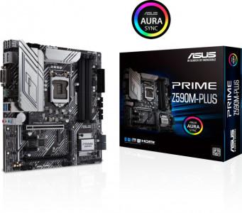 ASUS PRIME Z590M-PLUS, DDR4, SATA3, USB3.2Gen2x2, DP, LGA1200 mATX