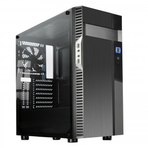 Silverstone PS14B-EG ATX tempered glass ohišje