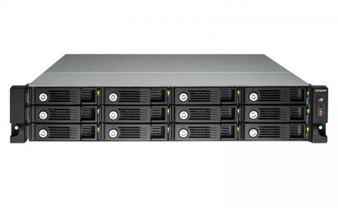 """QNAP TS-1253U NAS strežnik za 12 diskov, 2U 19"""" rack"""