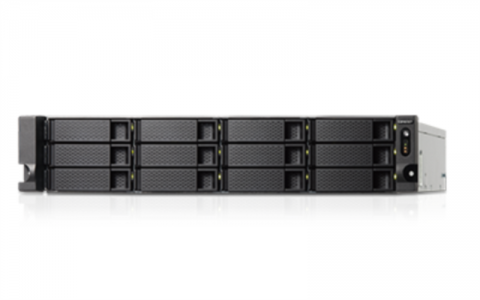 """QNAP TS-1263U-RP NAS strežnik za 12 diskov, 2U 19"""" rack, redudantni napajalnik"""