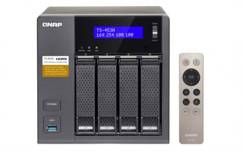 QNAP TS-453A NAS strežnik za 4 diske