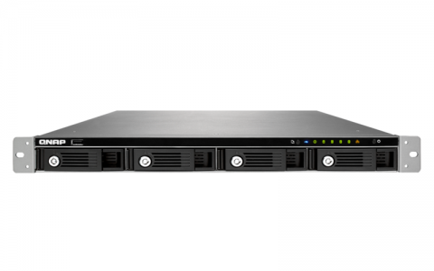 "QNAP TS-453U NAS strežnik za 4 diske, 1U 19"" rack"