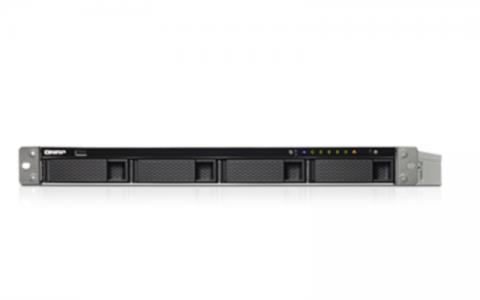 "QNAP TS-463U-RP NAS strežnik za 4 diske 1U 19"" rack, redudantni"