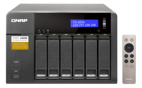 QNAP TS-653A NAS strežnik za 6 diskov