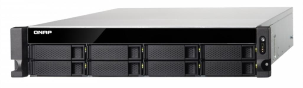 """QNAP TS-863U-RP NAS strežnik za 8 diskov, 2U 19"""" rack, redudantni napajalnik"""