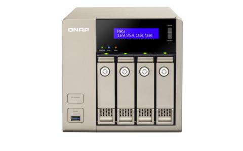 QNAP TVS-463 NAS strežnik za 4 diske