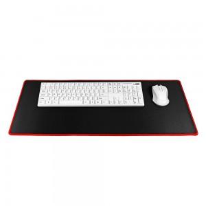 9H Podloga za miško in tipkovnico črna/rdeča L