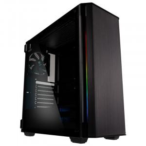 KOLINK REFINE E-ATX RGB osvetljeno ohišje, črno