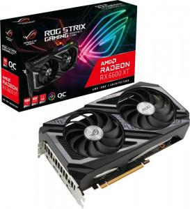 Grafična kartica ASUS ROG STRIX RX 6600 XT OC GAMING, 8GB GDDR6, PCI-E 4.0