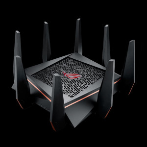ASUS ROG Rapture GT-AC5300 Gigabit Tri-Band AC5300 brezžični usmerjevalnik, 802.11ac/a/g/b/n, 5334Mbps