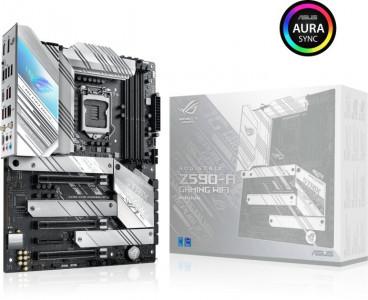 ASUS ROG STRIX Z590-A GAMING WIFI, DDR4, SATA3, USB3.2Gen2x2, DP, 2.5Gb LAN, Wi-Fi, LGA1200 ATX