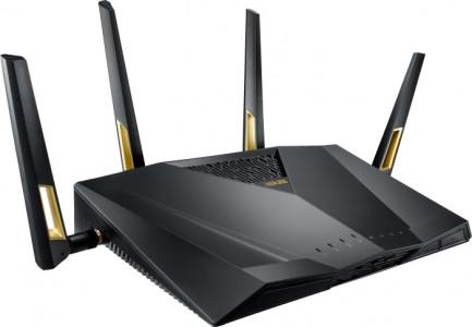 ASUS RT-AX88U Gigabit Dual-Band WiFi 6 AX6000 brezžični usmerjevalnik, 802.11ax/ac/a/g/b/n, 4804+1148Mbps