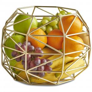 VonShef košara za sadje zlata