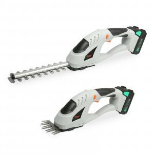 VonHaus akumulatorske škarje za grmičevje in travo F-Series