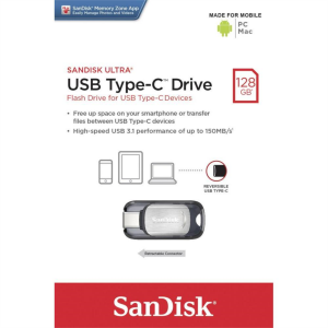 Sandisk 128GB ULTRA USB TYPE-C