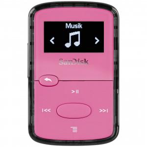 SanDisk CLIP JAM MP3 predvajalnik 8GB PINK