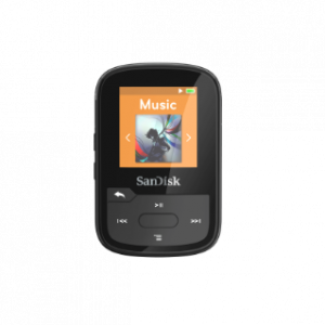 SanDisk Clip Sport Plus MP3 player 16gb črna barva