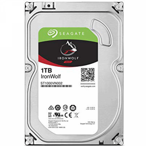 Seagate NAS 1TB trdi disk SATA 3, 6Gb/s, 64MB IronWolf