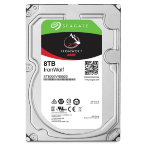 Seagate NAS trdi disk 8TB 7200 256MB SATA3 IronWolf