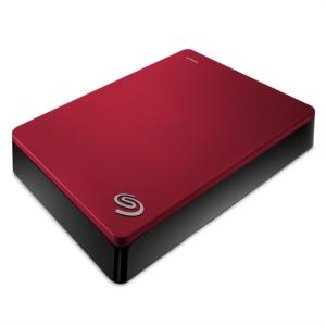 """Seagate 4TB 2,5"""" USB 3.0 BACKUP PLUS, rdeč"""