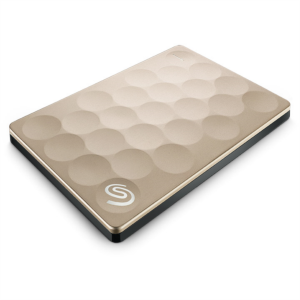 "Seagate 2TB 2,5"" USB 3.0 BACKUP PLUS, zlat Ultra Slim"