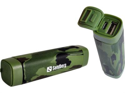 Sandberg Outdoor Powerbank 2.600 mAh prenosna baterija