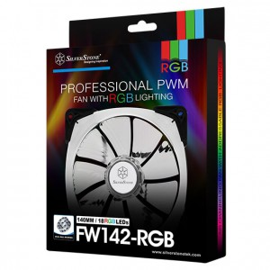 Silverstone FW142 140mm RGB ventilator