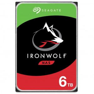 Seagate NAS 6TB trdi disk SATA 6Gb/s, 5400, 256MB IronWolf