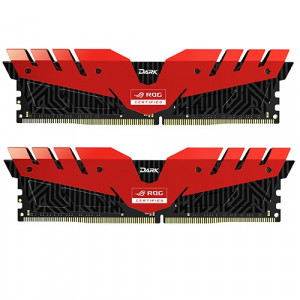 Teamgroup Dark ROG 16GB Kit (2x8GB) DDR4-3000 DIMM PC4-24000 CL16, 1.35V