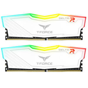 Teamgroup Delta RGB 16GB Kit (2x8GB) DDR4-3200 DIMM PC4-25600 CL16, 1.35V