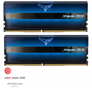 Teamgroup XTREEM ARGB 16GB Kit (2x8GB) DDR4-3600 DIMM PC4-28800 CL18, 1.35V