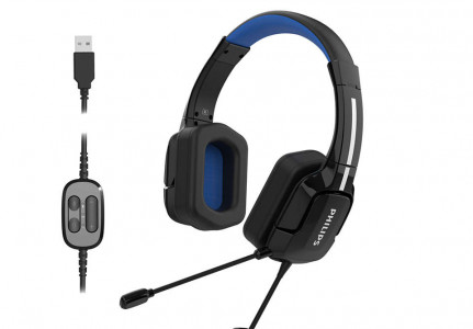 Philips TAGH401BL 3D gaming slušalke za računalniške igre