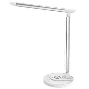 TaoTronics LED namizna svetilka z brezžično polnilno postajo bela TT-DL36