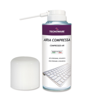 Tecnoware kompresiran zrak za čiščenje, 400ml