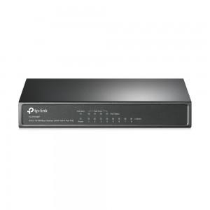 TP-LINK 8-Port 10/100Mbps namizno stikalo s 4 porti PoE