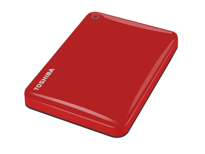 Toshiba Canvio Connect 500GB USB 3.0 zunanji disk, rdeč