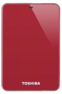 Toshiba Canvio Stor.E 500GB USB 3.0 zunanji disk, rdeč